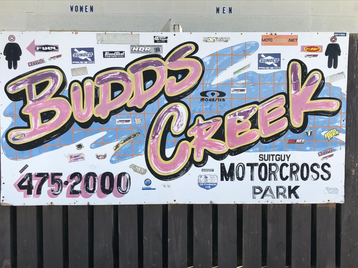 Budds Creek Sign