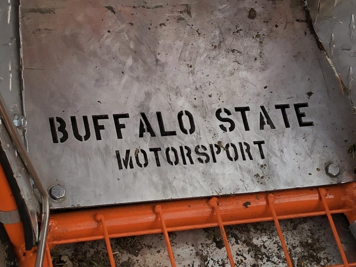 Buffalo State Motorsports plate
