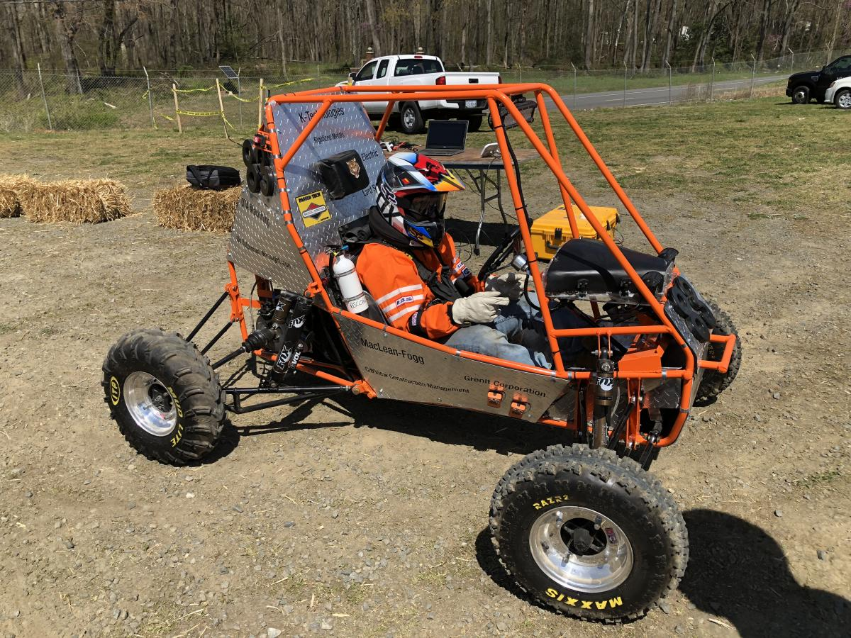Car at competition