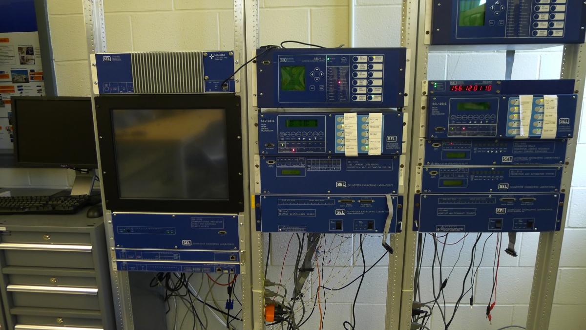 Smart Grid Lab equipment
