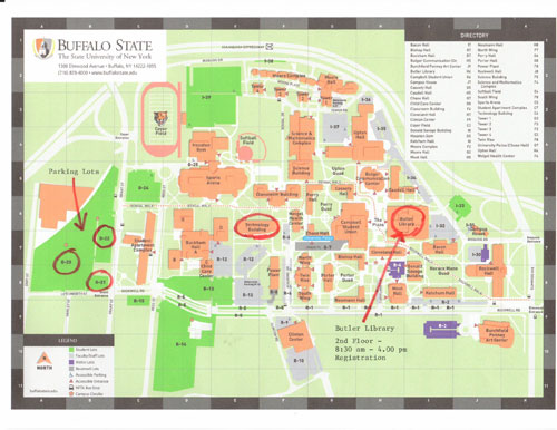 buff state campus map Gadgets 2018 Buffalo State Campus Map buff state campus map